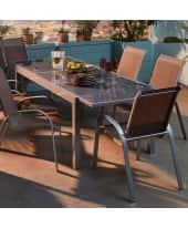 Outdoor-Tisch Futura, ausziehbar, Aluminium Katalogbild