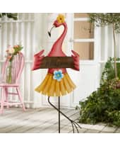 Gartenstecker Flamingo Katalogbild