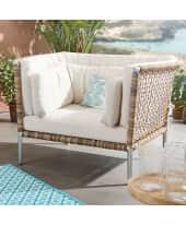 Outdoor-Sessel Lunaria, inkl. Auflagen, modern, Kunststoffgeflecht Katalogbild