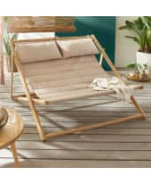Outdoor-Liege Bamboo Katalogbild