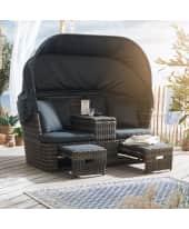Outdoor-Relaxinsel Sunset Katalogbild