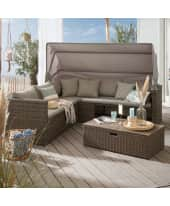 Outdoor-Lounge-Set, 2-tlg. Beach Katalogbild