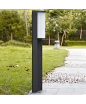 Outdoorleuchte Wave, LED, Aluguss, Kunststoff, ca. H 110 cm Katalogbild