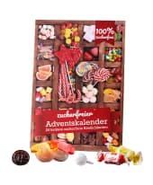 Adventskalender Zuckerfreie Süßigkeiten, 24 unterschiedliche zuckerfreie Süßigkeiten Vorderansicht