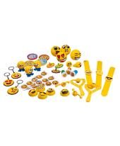 Spiele-Set, 301-tlg. Emojis, Kunststoff Vorderansicht