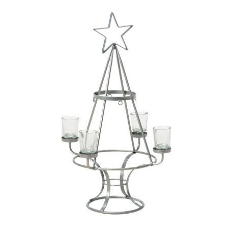 Weihnachtsbaum aus metall von impressionen