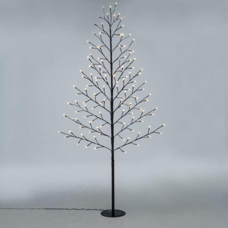 Weihnachtsbeleuchtung Led Baum.Led Baum Pure Mit 128 Leds Ca H150 Cm