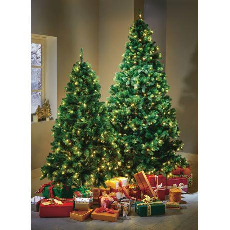 Tannenbaum Led.Led Tannenbaum Täuschend Echt Kunststoff Metall Led In 3 Größen