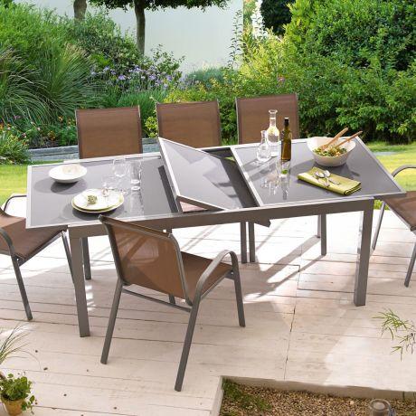 Gartentisch Futura Ausziehbar Aluminium