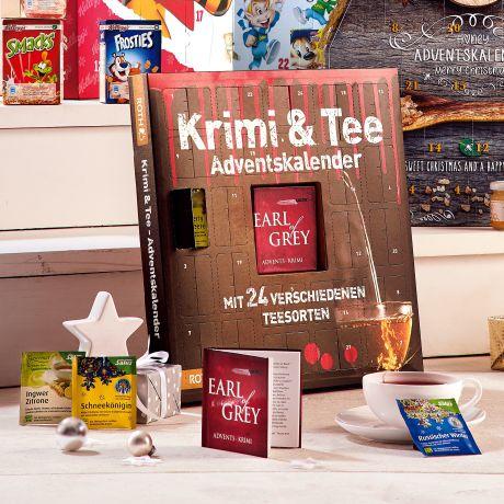 Weihnachtskalender Tee.Adventskalender Krimi Tee