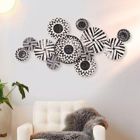 Gut gemocht Wanddeko-Objekt Black & White FL02