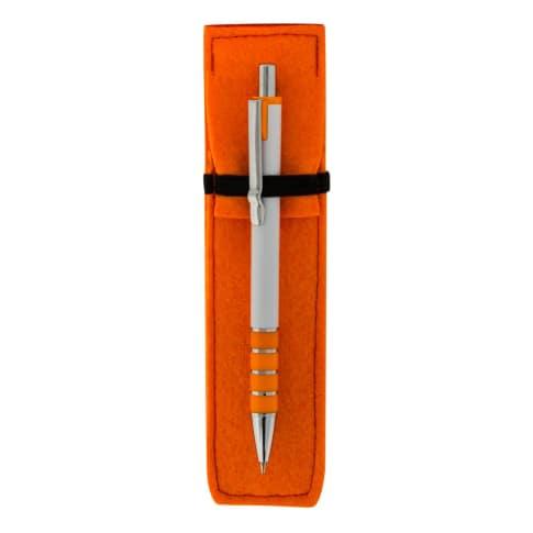 Kugelschreiber Santa Fe Blaue Gro Raummine In Filzh Lle