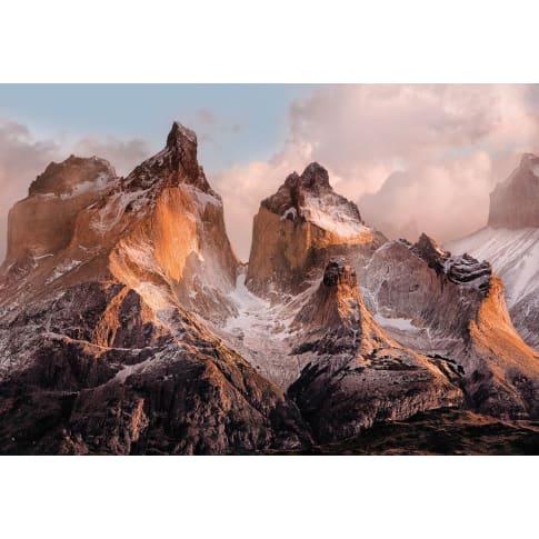 Fotoapete Patagonien, Papier, ca. B254xH184 cm Vorderansicht