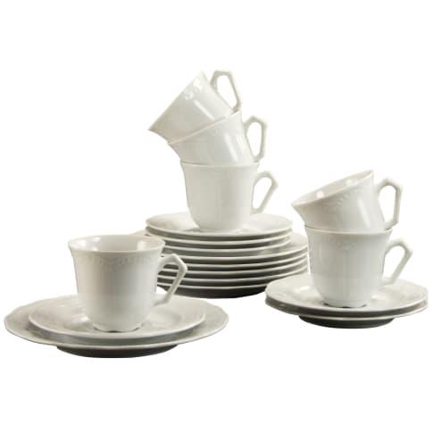 Kaffeeservice, 18-tlg. Meret, Porzellan Vorderansicht