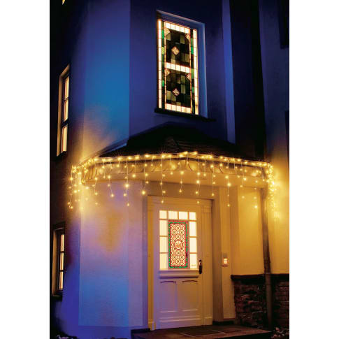 LED-Lichtervorhang, 200 LEDs Eisregen, Lichterkette Katalogbild