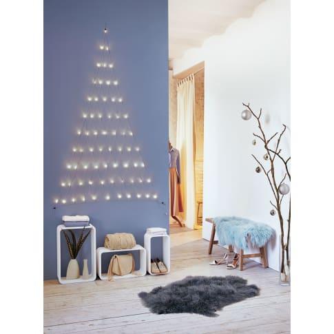 led vorhang tannenbaum beleuchtet kunststoff kupfer 66. Black Bedroom Furniture Sets. Home Design Ideas