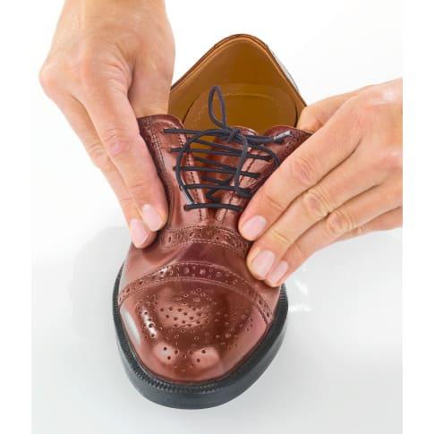 Schnürsenkel elastisch 3 Paar, für Anzugschuhe Sneaker oder Stiefeletten, dehnbar von 60 bis 100cm Katalogbild