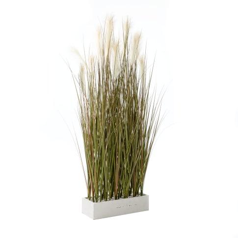 Kunstpflanze Raumtrenner-Gras, Raumteiler, Kunststoff, Höhe ca. 153 cm Vorderansicht