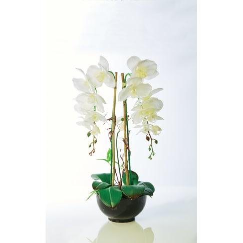 Kunstpflanze Orchideentopf Grace, mit Übertopf, Höhe ca. 63 cm Katalogbild