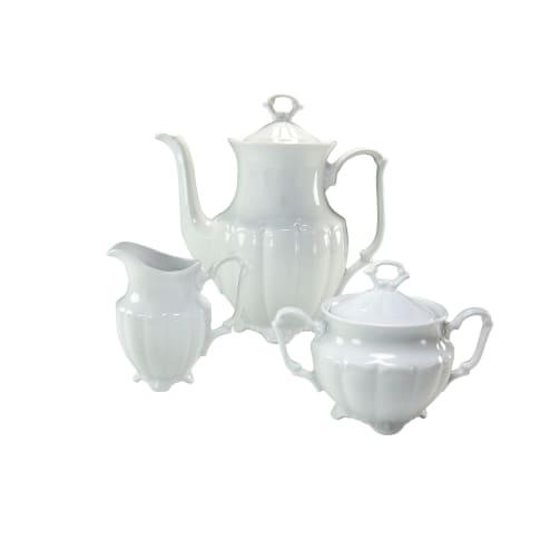 Kaffeegarnitur, 3-tlg. Maria Theresia, spülmaschinen- und mikrowellengeeignet, Porzellan Vorderansicht