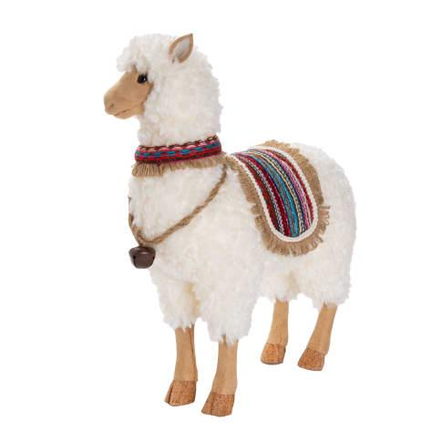 Deko-Figur Lama Carlos, ca. H 47 cm Vorderansicht