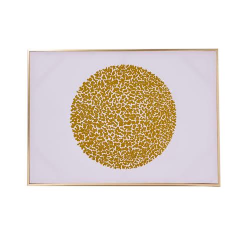 Bild Glamour, Print mit Goldfolie, ca. B67 x T4 x H94 cm Vorderansicht