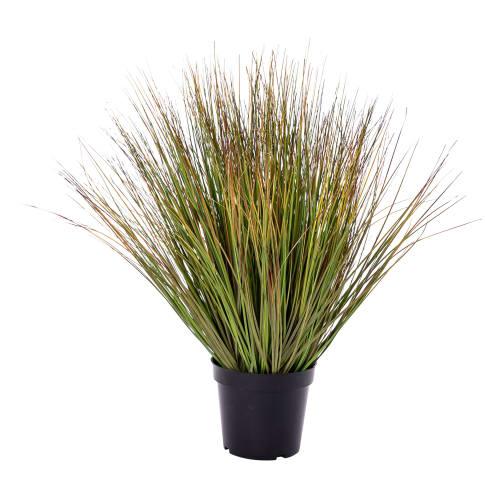 Kunstpflanze Gras Vorderansicht