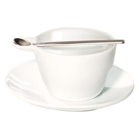 Espressotasse, 3-tlg. mit Löffel Vorderansicht