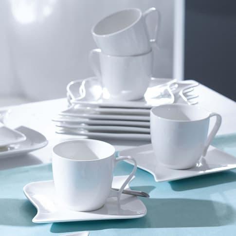 Kaffeeservice Wave weiß, 18-tlg. Katalogbild