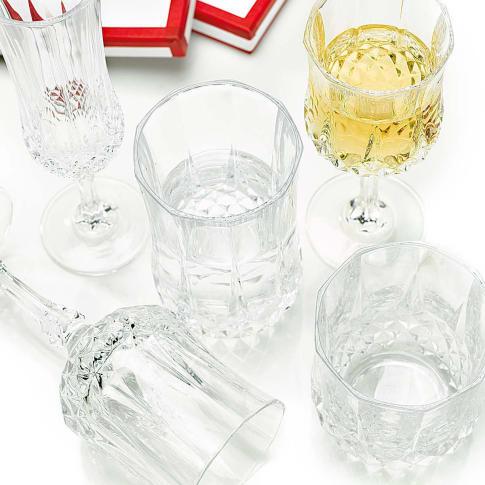 "Whiskyglas-Set ""Longchamp"", 6-tlg., geschliffen, klassisch Katalogbild"