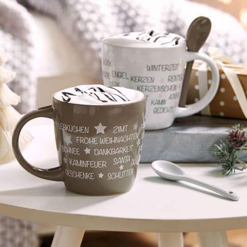 Löffeltassen-Set, 4-tlg. Weihnachtsstimmung Katalogbild