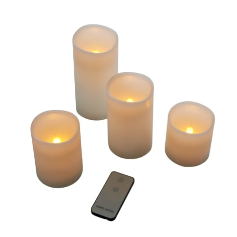 LED-Kerzen-Set, 4-tlg. Vorderansicht