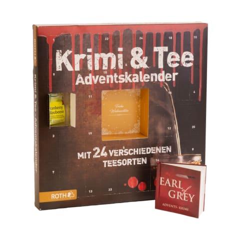 Adventskalender Krimi & Tee Vorderansicht