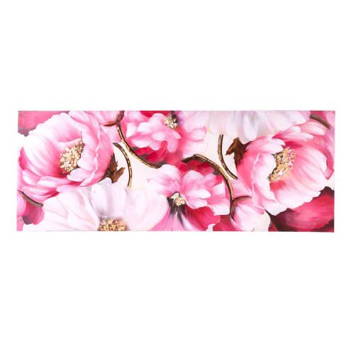 Bild Lovely Roses, Handgemalt, ca. B150x H60cm Vorderansicht