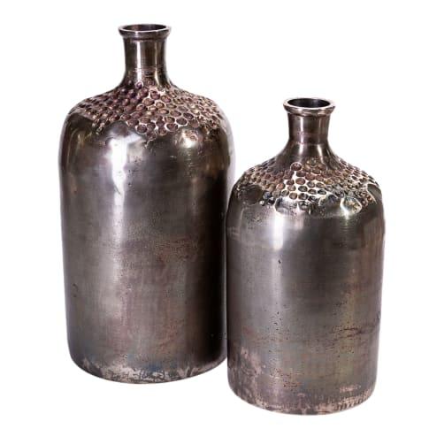 Deko-Vase Ming, Aluminium Vorderansicht