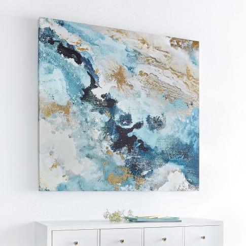 Bild Marble, mit Goldfolienveredelung, Kunstdruck auf Leinwand, ca. 80 x 80 cm Katalogbild