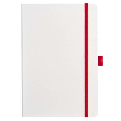 Notizbuch A5 White Vorderansicht