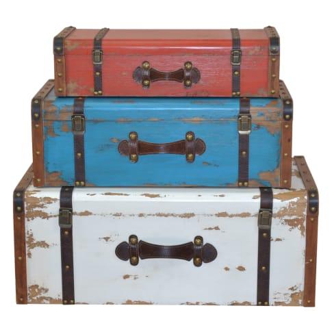Koffer-Set, 3-tlg. Theo Vorderansicht