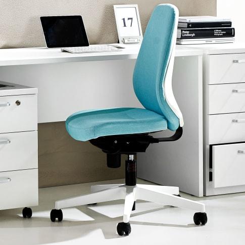 Bürodrehstuhl Pastell, höhenverstellbare Rückenlehne Katalogbild