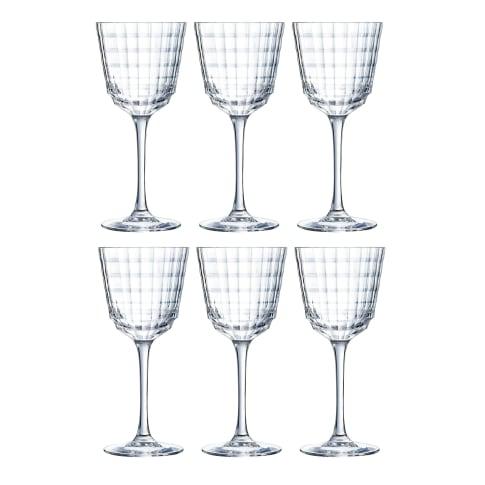 Venus, 6-er Set Weißweinglas 25 cl Vorderansicht