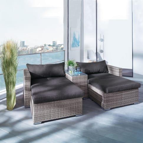 Outdoor-Möbel-Set Neo, inkl. Auflagen und Kissen, Kunstrattan Katalogbild