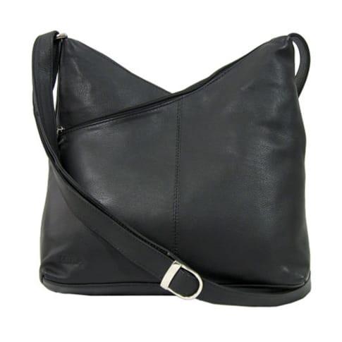 Damentasche, Schultertrageriemen, Handytasche, Magnetverschluß Vorderansicht