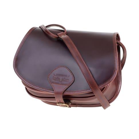 Jagdtasche Allison, verstellbarer Schultertrageriemen Vorderansicht
