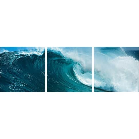 Bild Ozeanwelle Vorderansicht