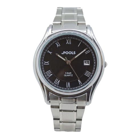 Armbanduhr, mit Klappverschluss Vorderansicht