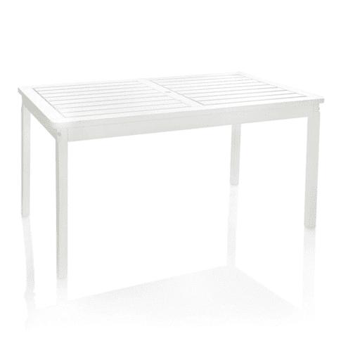 Outdoor-Tisch Landhaus, OUTDOOR geeignet, Landhausstil, Massives Kiefernholz (Ursprungsland: Estland) , ca. L135 x B77 x H72 Vorderansicht