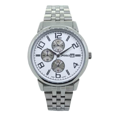 Armbanduhr, Chrono Look, Faltschließe Vorderansicht
