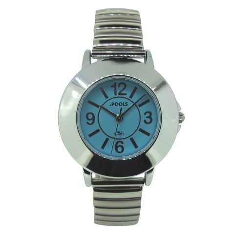 Armbanduhr, arabische Ziffern Vorderansicht