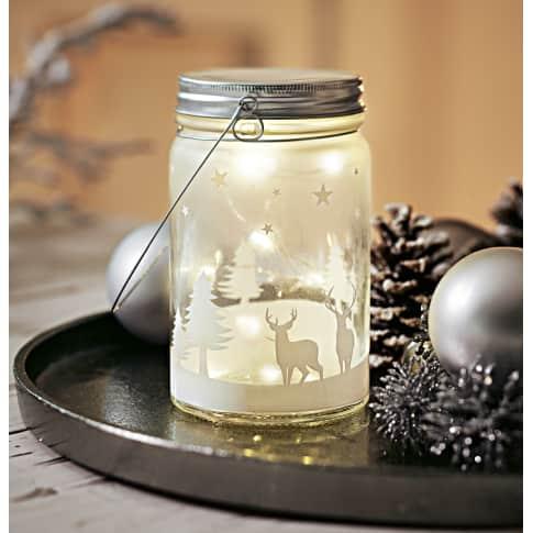 LED-Deko-Glasdose Winterland Katalogbild