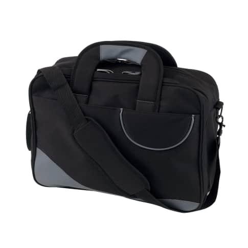 Laptoptasche Multi, mit Laptopfach, Organizerfach, Gurt mit Schulterpolster, ca. B40 cm Vorderansicht